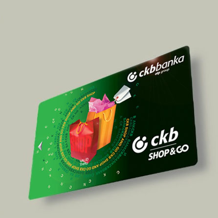 CKB shopping card
